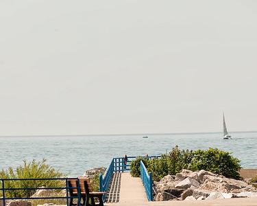 004 Michigan August 2013 - Beach (South Pier)