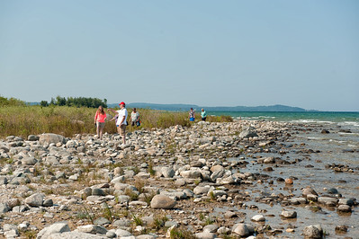 041 Michigan August 2013 - Grand Traverse Lighthouse Shore
