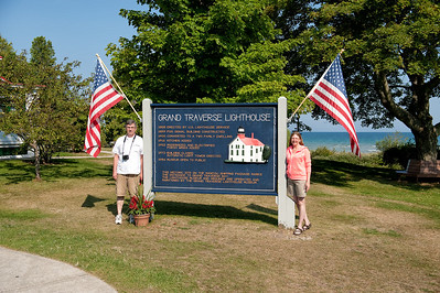033 Michigan August 2013 - Grand Traverse Lighthouse (Dan & Janice)
