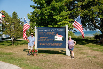 034 Michigan August 2013 - Grand Traverse Lighthouse (Dave & Debi)