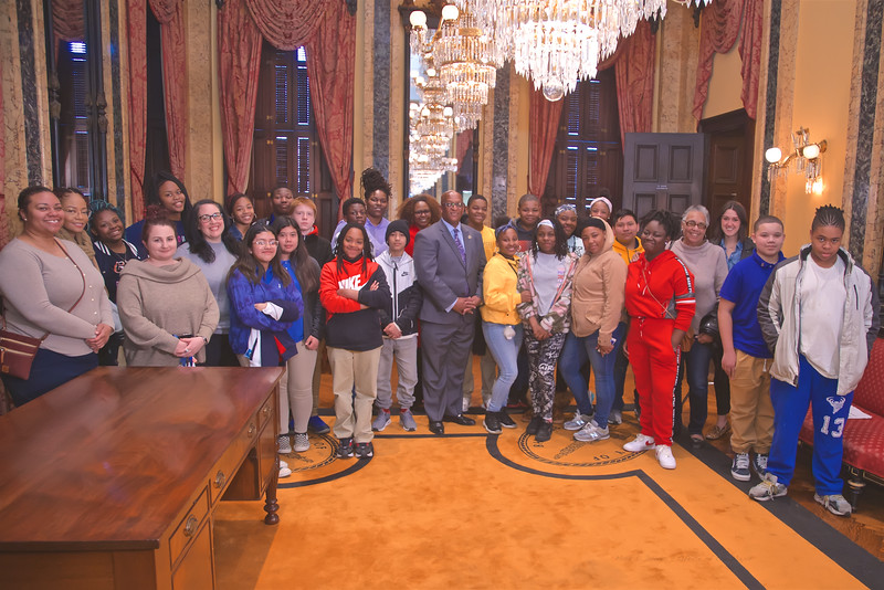 March 04, 2020 - BMore Me Civic Engagement Experience City Hall Tour