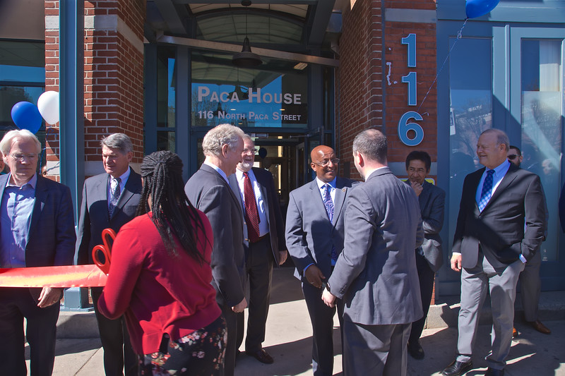 March 09, 2020 - Ribbon Cutting for PACA House