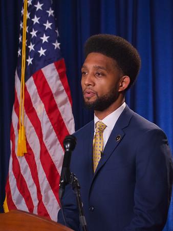 March 18, 2021 - Mayor Brandon M. Scott State of the City Address - © Mark Dennis