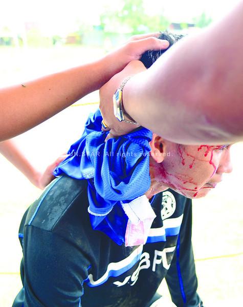 Alcoy vs Ateneo brawl