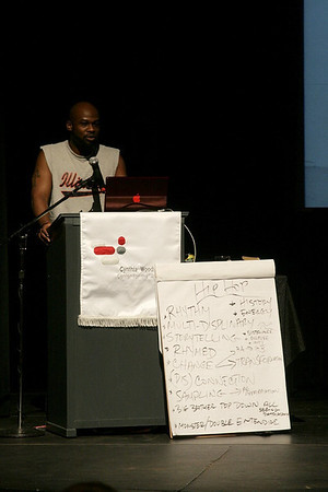 20090329 S.O.S. Day 4 red, black, and GREEN: a blues. Presentation by  Marc Bamuthi Joseph