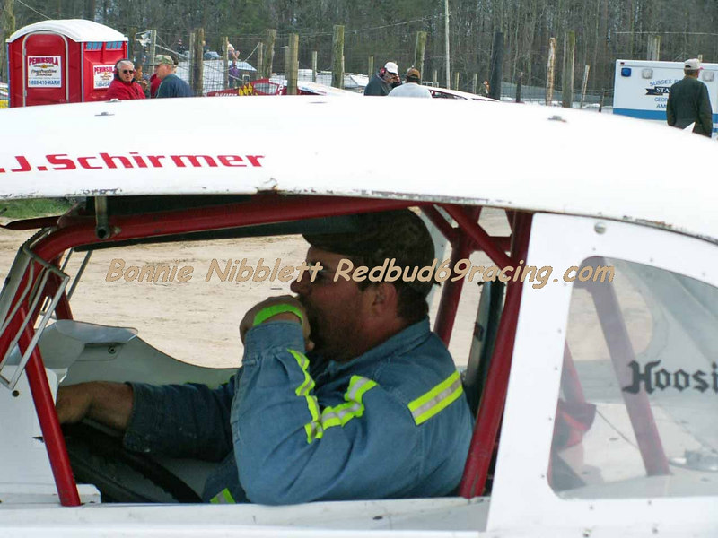 March 31, 2007 Georgetown Speedway Test - N - Tune<br /> CJ Schirmer Vintage Stock Car