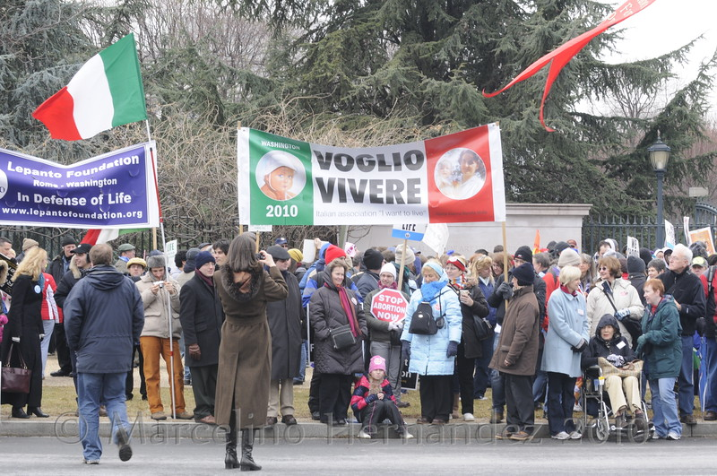 Abortion is not just an American problem. Support from around the world came to help us make a statement about the sanctity of life! Grazie mille!