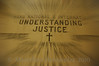 I thought this was providential. The theme of the pilgramage was about justice. This was from the crypt church at the Basilica of the National Shrine of the Immaculate Conception.