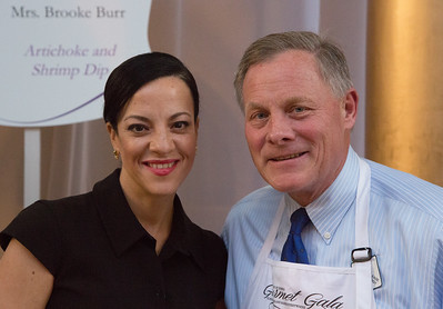 Senator Richard Burr (R-NC) and Mrs. Brooke Burr