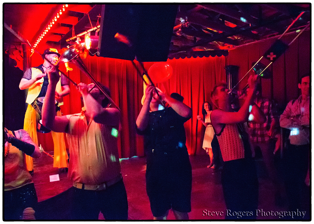 Minor Mishap Marching Band at the Spiderhouse Ballroom