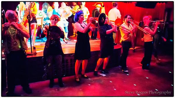 Minor Mishap Marching Band at the Spiderhouse Ballroom