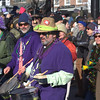 parading drummers