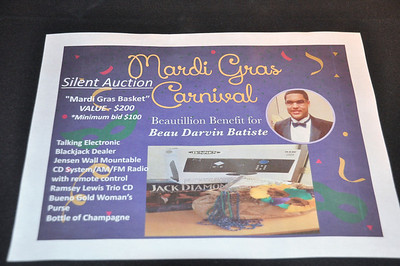 Mardi Gras Carnival Benefit for Beau Darvin Batiste March 1, 2014