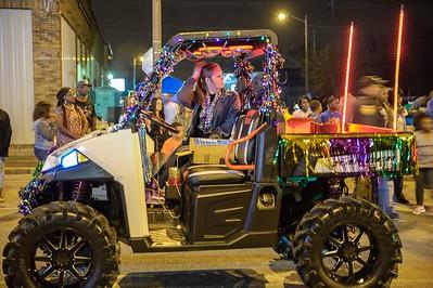 """Mardi Gras """"Krewe of Krewes"""" Parade 2017"""