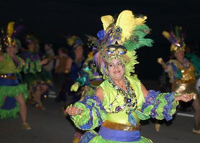 Mardi Gras People 2004