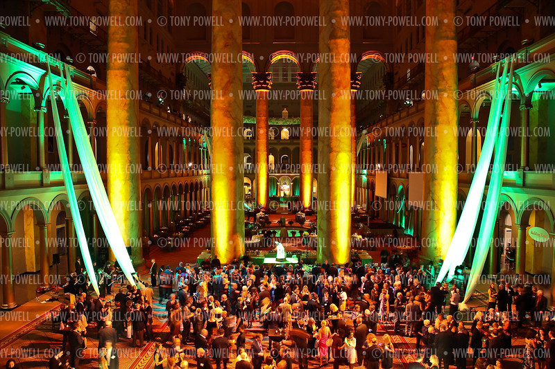 Photo © Tony Powell. Maret Centennial. National Building Museum. October 1, 2011