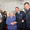 Image features L to R: Brian Kelly, Chairman of Dún Laoghaire branch Garda Retirement Association, Margaret McNaught, Superintendent Martin Fitzgerald, Dún Laoghaire Garda District, and Assistant Commissioner Fintan Fanning. <br /> <br /> For further information contact Eddie Ryan Tel.+353.87.2240439<br /> Photograph: Margaret Brown Tel. +353.86.8535557