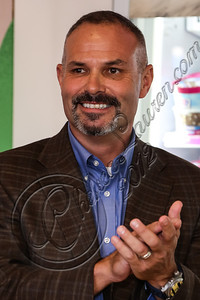 BURBANK, CA - OCTOBER 04:  Sr. vice president /brand officer of Baskin-Robbins Bill Mitchell attends the launch of Dunkin' Donuts K-Cups at Baskin-Robbins on October 4, 2012 in Burbank, California.  (Photo by Chelsea Lauren/FilmMagic)
