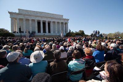 Marian Anderson Tribute Concert, Easter Sunday 2009 featuring Denyce Graves (commemorating Easter Sunday 1939) at the Lincoln Memorial