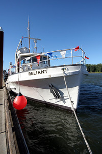Sea Scout training ship M/V Reliant Maritime Heritage Festival 2013