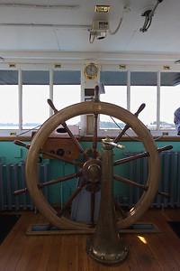 """Portland"" Steam Tug Wheelhouse"