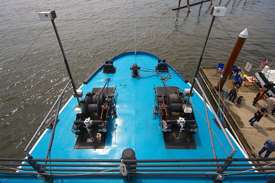 """Portland"" Steam Tug Bow Cables and Winches"