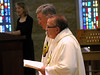 Frs. Tom Cassidy and Yvon Sheehy during the Litany of Saints.