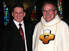 Frater Mark with Fr. Yvon Sheehy.  Fr. Yvon is director of vocations and formation.