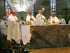 The Eucharistic celebration.