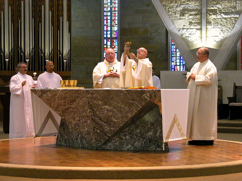 Fr. MacDonald was the main celebrant and Fr. Charlie Bisgrove was the master of ceremonies.