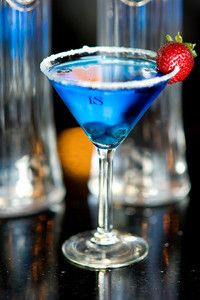 IS Blue Lagoon ISVodka Martini Recipe and Photo