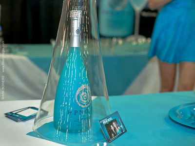 Hpnotiq Event Booth at Girl's Day Out Event At South Point Casino Las Vegas