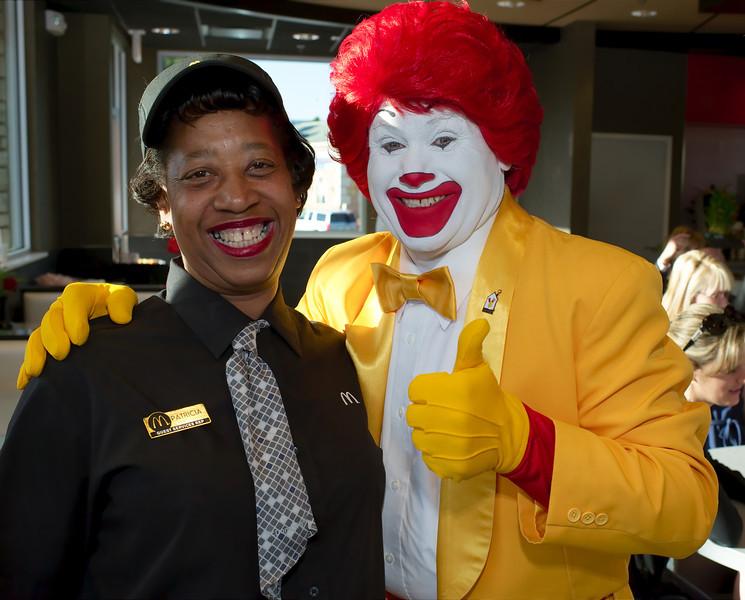 Baccarat Crystal Decorates Latest McDonalds in Las Vegas