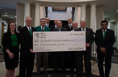 Ohio Valley Bank Check Presentation