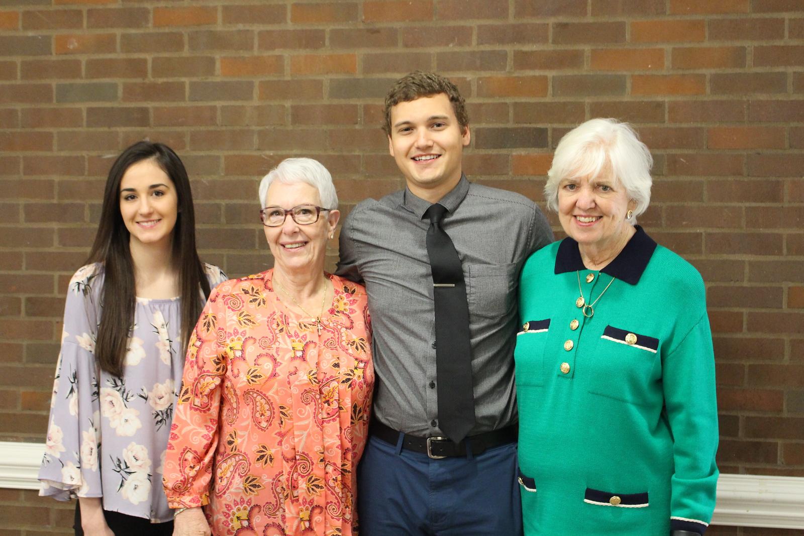 Hodges, Burlingame, Dakota and Kaylee Hartsfield