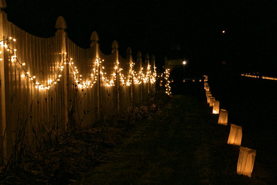 Second Annual Luminaria Night