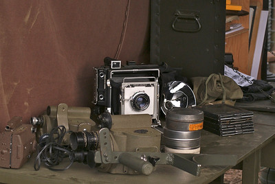supplies need by photographers in World War ll ...