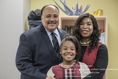 Martin Luther King III and Family