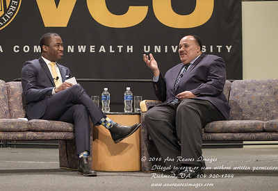 Levar Stoney and Martin Luther King III