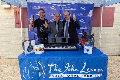 2018_09_27, Audio-Technica, Barry Grodenchik, Brian Rothschild, Establishing, Giveaway, Martin Van Buren High School, NY, OWC, Queens Village, Sam Sochet, Tents, Yamaha, Copper Peace