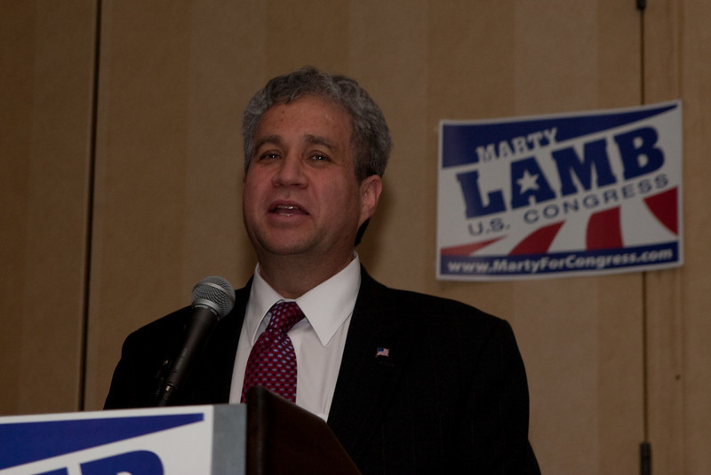 Marty Lamb Congressional Kickoff March 26, 2010