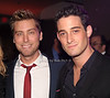Lance Bass, Michael Turchin<br /> photo by Rob Rich/SocietyAllure.com © 2011 robwayne1@aol.com 516-676-3939