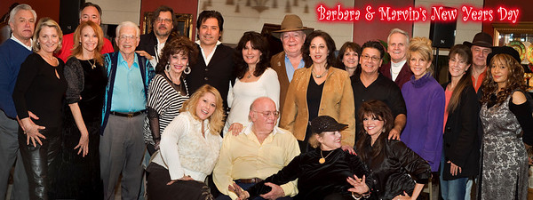 New Years Day Party with Marvin and Barbara Bronxmeyer with all their friends!