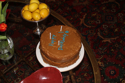 some thought it as good as a Kennamer reunion caramel cake (decorations by Anne)