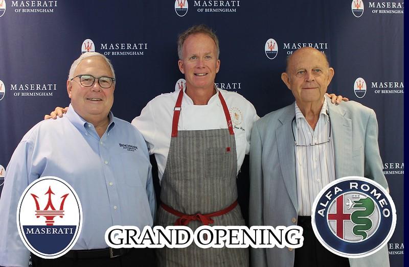 Maserati Grand Opening