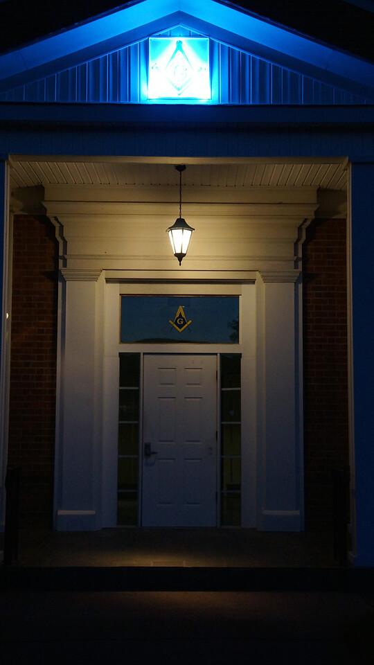 Masonic Entrance...