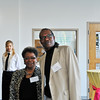 Marva Perry, Asst. VP for Enrollment Mgmt. and Student Affairs and Bill Raynor, Director, Athletics, Recreation and Wellness Center