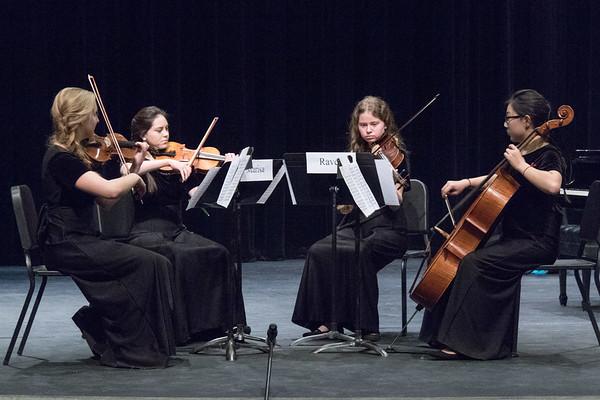Albuquerque Youth Symphony Program string quartet.