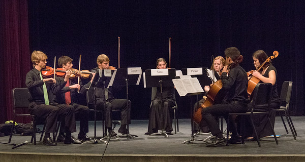 Double string quartet from Albuquerque High School and Sandia High School.