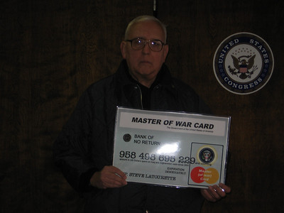 *   Dave Macko at the office of Deborah Setliff,  aide to Rep. Steve LaTourette